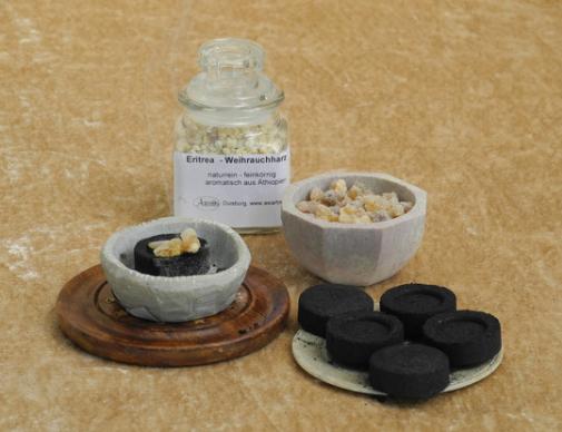 Kohle für Weihrauch Wasserpfeife, Durchmesser 33mm
